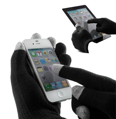 DRG Guanti Touch screen con speciale microfibra per cellulari tablet e-reader uomo donna