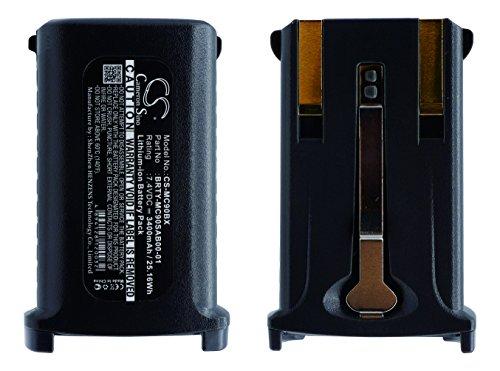 CS Akku 3400mAh passend für Symbol MC9000, MC909X-K, MC9090-K, MC909, MC9060-K, MC9050, ersetzt Symbol 21-61261-01, 21-65587-01, 21-65587-02, 82-111734-01, BRTY-MC90SAB00-01
