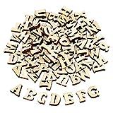 TsunNee Lot de 200 lettres de l'alphabet en bois pour...