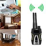 Winnes - Detector de cámara espía inalámbrico inalámbrico con sensor de radio de alta sensibilidad para cámara oculta (plata)