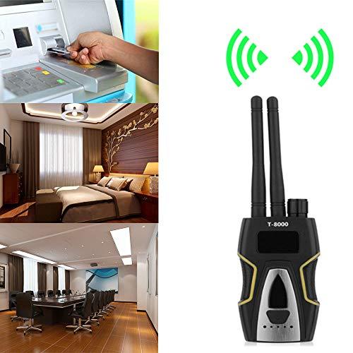 hangang señal Anti-Spy Bug Detector cámara espía Detector de señal inalámbrica Detector de señal GPS Detector de señal RF para cámara Oculta