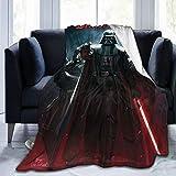 Star Wars Darth Vader leichte gemütliche Flanelldecke Fleece weich und warm Überwurf Fit Couch Sofa Baby Decken für Kinder Erwachsene Männer Frauen Indoor Schlafzimmer 50