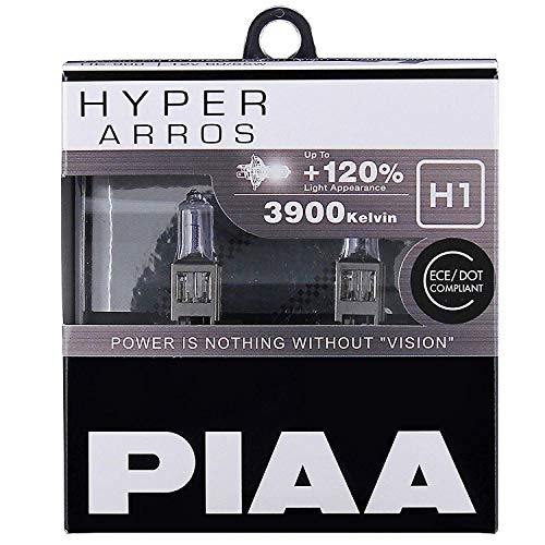 PIAA Hyper Arros H1 Coche Bombillas (Pack Doble) HE902