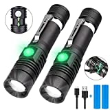 LED Flashlight, iToncs Super Bright Powerful USB Rechargeable Flashlight Torch for Outdoor Camping