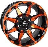 STI HD6 Radiant Orange/Black Golf Wheel 14x6 (4/4) - (3+3) [14HD604-ORG]