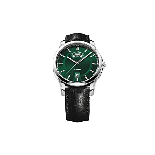 Maurice Lacroix Pontos Day/Date Automatic Watch, Stainless steel, Green