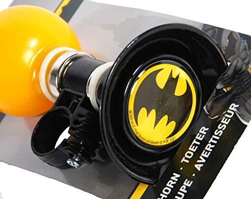 YTG Kinder Fahrrad-Hupe Fahrrad-Horn Batman Cars Paw-Patrol Spider-Man Frozen (Batman)