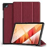 Kdely Funda para Samsung Galaxy Tab A7 10.4'' , Cover Protector Ultra Slim Smart Cascara con Auto Reposo/Activación Función Compatible con Samsung Galaxy Tab A7 10.4'' Tablet 2020-Rojo