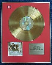 De el Señor de los anillos–Edición limitada CD 24quilates de oro recubierto disco LP–Comunidad del anillo