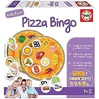 Educa- Edufun Juego de Mesa para niños: Prepara tu Pizza Jugando al Bingo, a Partir de 24 Meses (18127)