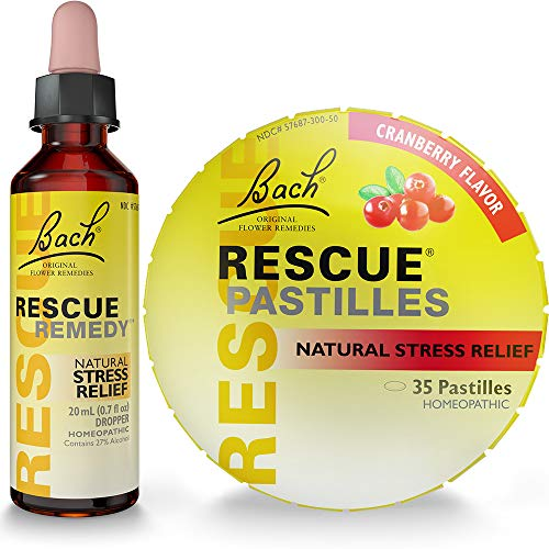 Rescue Remedy Dropper 20mL Plus Bonus Rescue...
