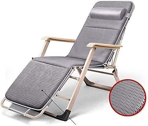 JAKWBR Tumbona Patio reclinable Sillas Patio Tumbonas,Cero Gravedad Sillas Cero Césped Sobre