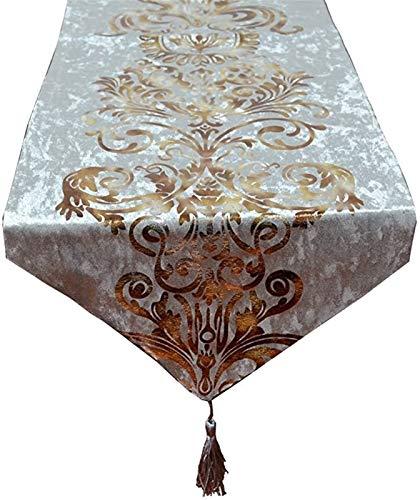 Manteles Tabla Runner - Luz de lujo Tabla Corredor Europeo Estilo Europeo Americano Nórdico Mesa de comedor Nórdica de alta gama Bandera de mesa de café Mantel Cama de cama Toalla de toalla de lujo De