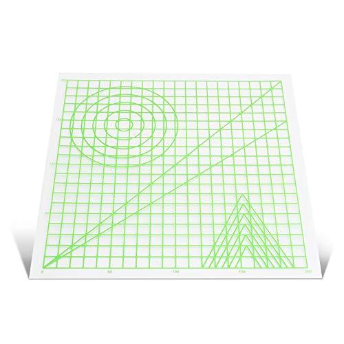 Aibecy 3D Stifte Silikon matte, Reißbrett mit Multi-förmigen Grundlegende Vorlage Kunst Liefert Werkzeug 3D Stift Zubehör Geschenk für Kinder Erwachsene