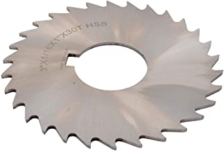 4-Inch by 1//8-Inch by 1-Inch 36T Grizzly G9490 HSS Slitting Saws