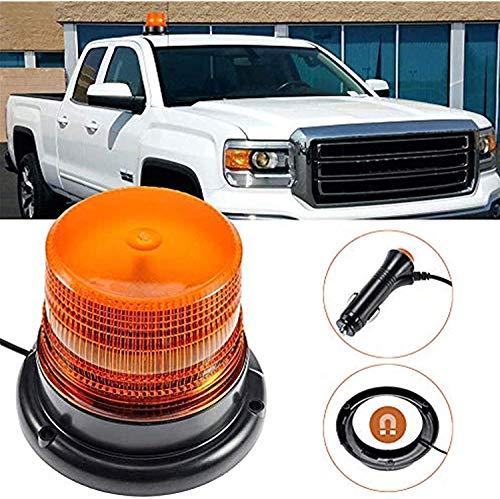 Gyrophare LED orange 12V lumière stroboscopique d'urgence Attention signalement Ambre lumières pour camion véhicule |strobe beacon light