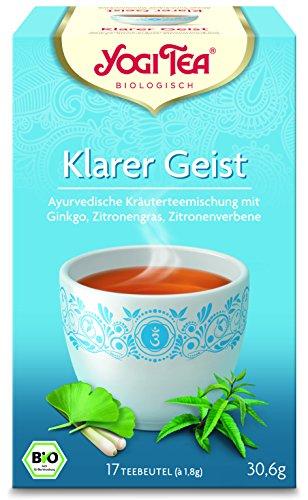 Yogi Tee BIO Klarer Geist, 17 Btl. à 1,8g