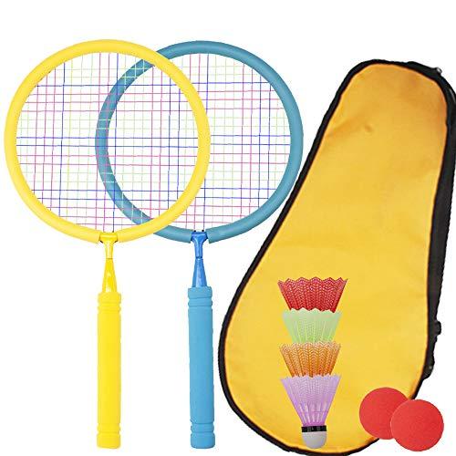 Senston Kids Badminton Rackets for Children Durable Badminton Racquet Set