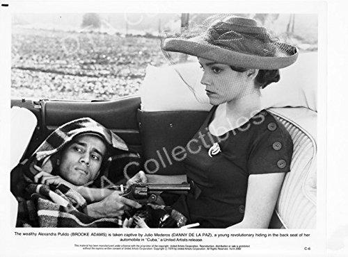 MOVIE PHOTO: CUBA-1979-BROOK ADAMS-DANNY DE LA PAZ-8x10 MOVIE STILL FN