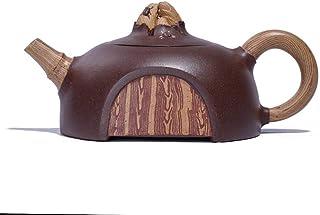 Chinese Teapot Yixing Handmade Genuine Yixing Teapot Tea Pot Gift Teapot Kung Fu Travel Tea Maker Pot (Color : Creep)