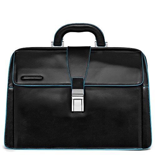 Piquadro Unisex Aktentasche| Schwarz| 36 cm | Taschen > Business Taschen > Aktentaschen | Piquadro