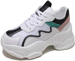 Zapatillas Deportivas Ligeras y cómodas con Cordones Zapatillas de Deporte Transpirables Fitness Jogging Calzado para Caminar