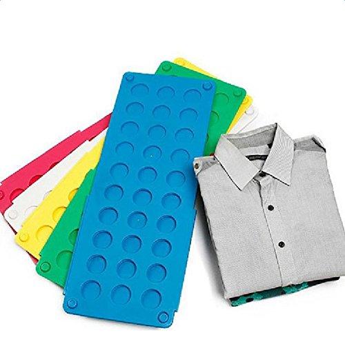 LAAT 1PCS Tabla para Doblar con Agujeros Ni/ño Azul para Doblar Ropa Plegar Camisetas Camisas Ropa Navidad