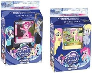 My Little Pony Both Decks CCG Card Game Equestrian Odysseys Theme Decks