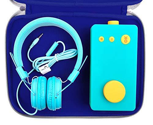 DURAGADGET Housse Large Bleue Compatible avec Lunii, ma Fabrique à Histoires et Accessories (Non fournis) - Protection en néoprène