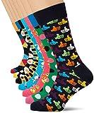 Happy Socks 7-Day Gift Box, Calcetines para Hombre, Multicolor (Multicolor 010), 41/44 (Tamaño del fabricante: 41/46)