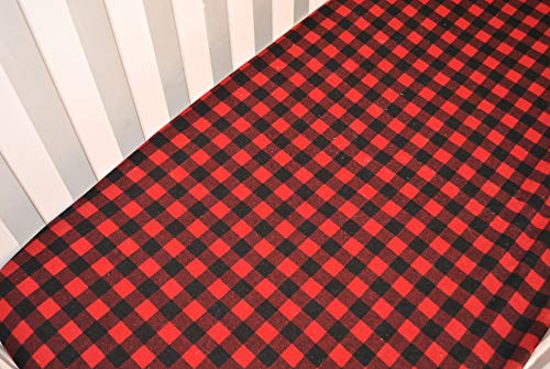 Fitted Crib Sheet - Nursery Bedding - Handmade in The PNW