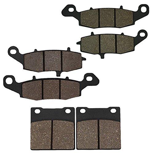 Preisvergleich Produktbild Cyleto Bremsbeläge vorne + hinten GSX 750 F GSX750F GSX750 F Katana 750 1998 1999 2000 2001 2002 2003 2004 2005 2006