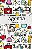 Agenda 2021-2022: Regalo di Natale, Nuovo Anno per Studenti di Medicina, Dottore, Dottoressa, Medico, Calendario 21- 22, Agenda...
