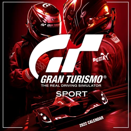 Gran Turismo Sport Hits 2022 Calendar: OFFICIAL game calendar. This incredible cute calendar january 2022 to december 2023 with high quality pictures .Gaming calendar 2021-2022. Calendar video games