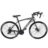 HUAYISHANG Road Bike 26 Inch 21 Speed Shimano Shifter 700C...
