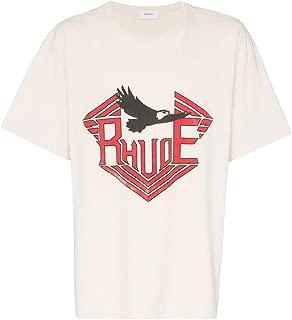 RHUDE Luxury Fashion Mens 04ATT05401WHITE White T-Shirt | Fall Winter 19