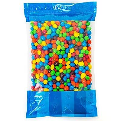 Bulk Peanut M&Ms in Resealable Bomber Bag, Wholesale Chocolate & Peanut Candy (5lb Bag)