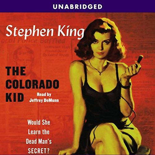 The Colorado Kid Audiobook By Stephen King cover art