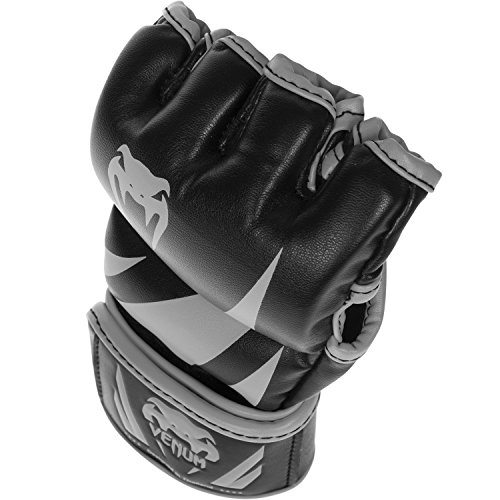 Venum Challenger MMA Gloves, Medium, Black/Neo Orange