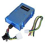 Universal Golf Cart Voltage Reducer 36V or 48V to 12V, 30 Amp 360 Watts Dual Power Source - DC Converter