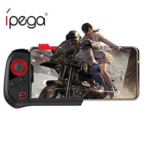 ipega PG-9121 Mobile Game Controller Red Spider Single-Handed Gamepad Joystick for iPhone and Android Bluetooth Wireless Connection