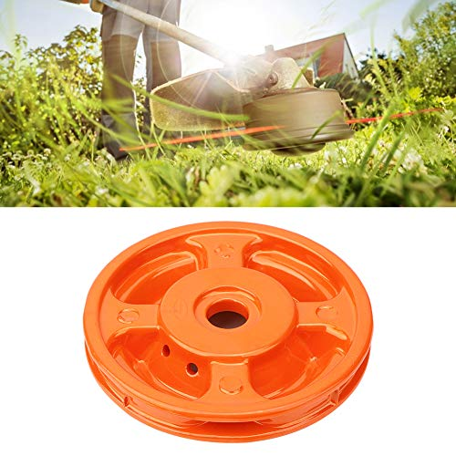 Garden Tools,Aluminum Grass Trimmer Head Brush Cutter Strimmer Lawn Mower Accessory with 4 Trimmer Line