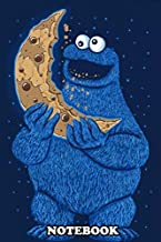 Notebook: Cookie Moon , Journal for Writing, College Ruled Size 6