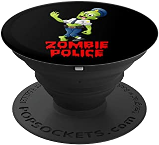Halloween Police Officer Zombie Funny Cop Joke PopSockets Grip and Stand for Phones and Tablets