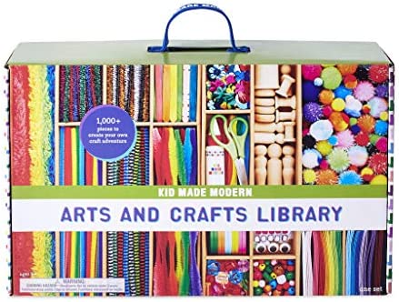 Kid Made Modern Arts and Crafts Supply Library Coloring Arts and Crafts Kit product image