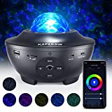 Star Projector, Galaxy Star Night Light Projector Working with Smart App & Alexa, 10 Color Music Starry Light Projector...