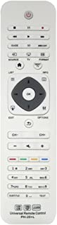 LuckyStar Universal Remote Control for Philips PH-20+L fits for Philips Series LCD LED HDTV Learn 3D Smart TV