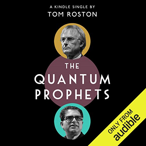 The Quantum Prophets audiobook cover art