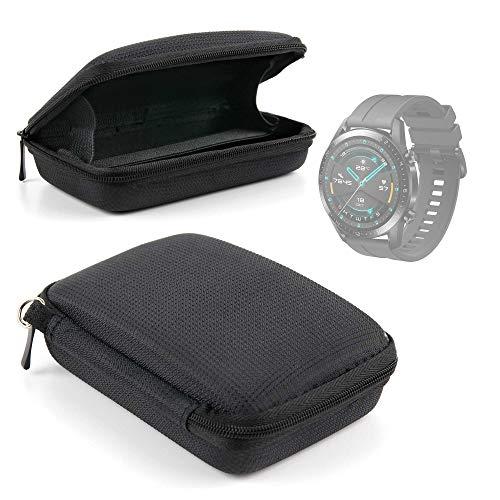 DURAGADGET Magnífica Funda Rígida Compatible con Smartwatch Huawei Watch GT 2 Sport, Garmin Fenix ??6S Pro, Emporio Armani ART5007 - con Correa De Mano