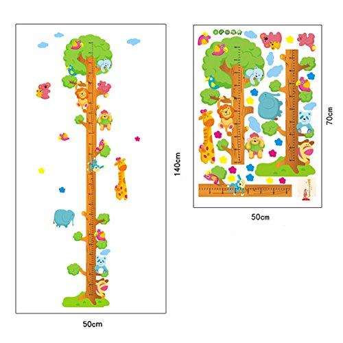 Chambre de bébé/Chambre/Classe décoratif Toise Sticker Mural Stickers, arbre